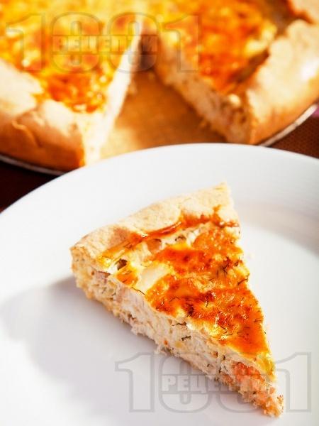 Пирог с риба и скариди - снимка на рецептата